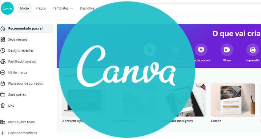 CANVA - Plataforma Design Gráfico - Introdução